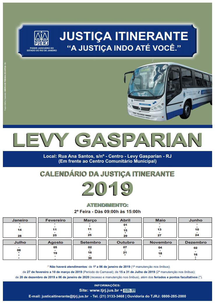 justica itinerante 2018